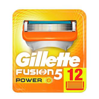 Fusion5 Power scheermesjes - 12 stuks