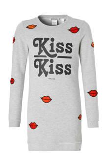 sweatjurk Babe Kiss grijs