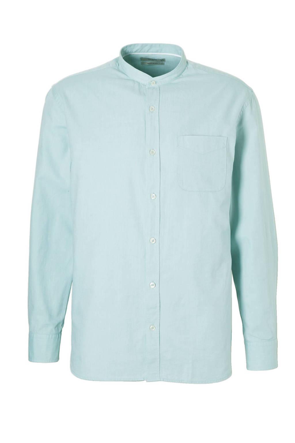 Mintgroen Heren Overhemd.Mango Man Regular Fit Overhemd Mintgroen Wehkamp