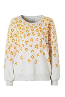 ONLY sweater met flockprint