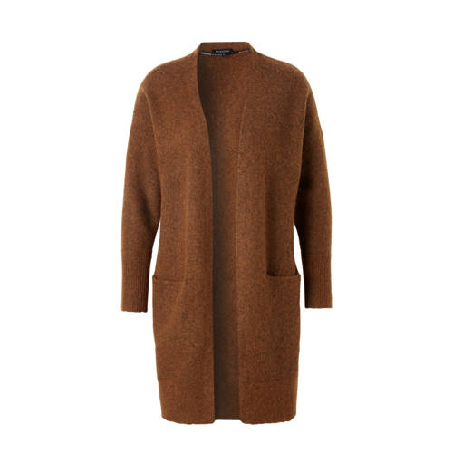 SELECTED FEMME vest met wol en mohair