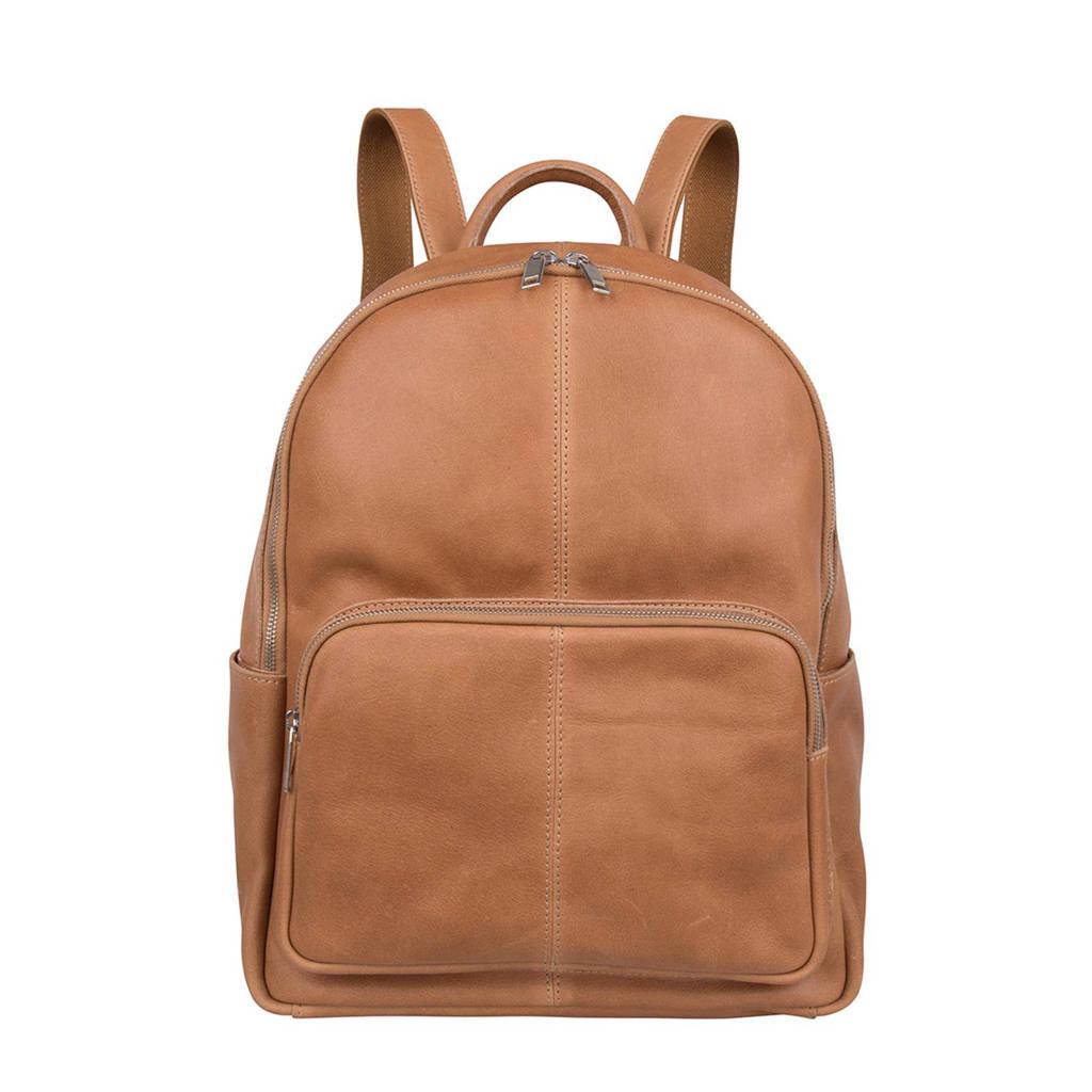 Cowboysbag 2117 13.3 inch Mason leren laptoptas rugzak, Camel