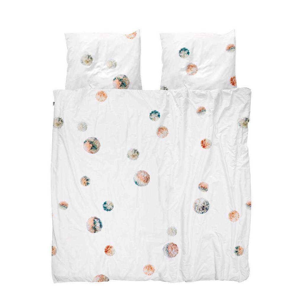 Snurk perkalkatoenen dekbedovertrek 1 persoons, 1 persoons (140 cm breed)