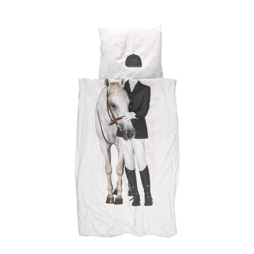 Snurk Katoen (biologisch) dekbedovertrek 1 persoons, 1 persoons (140 cm breed)