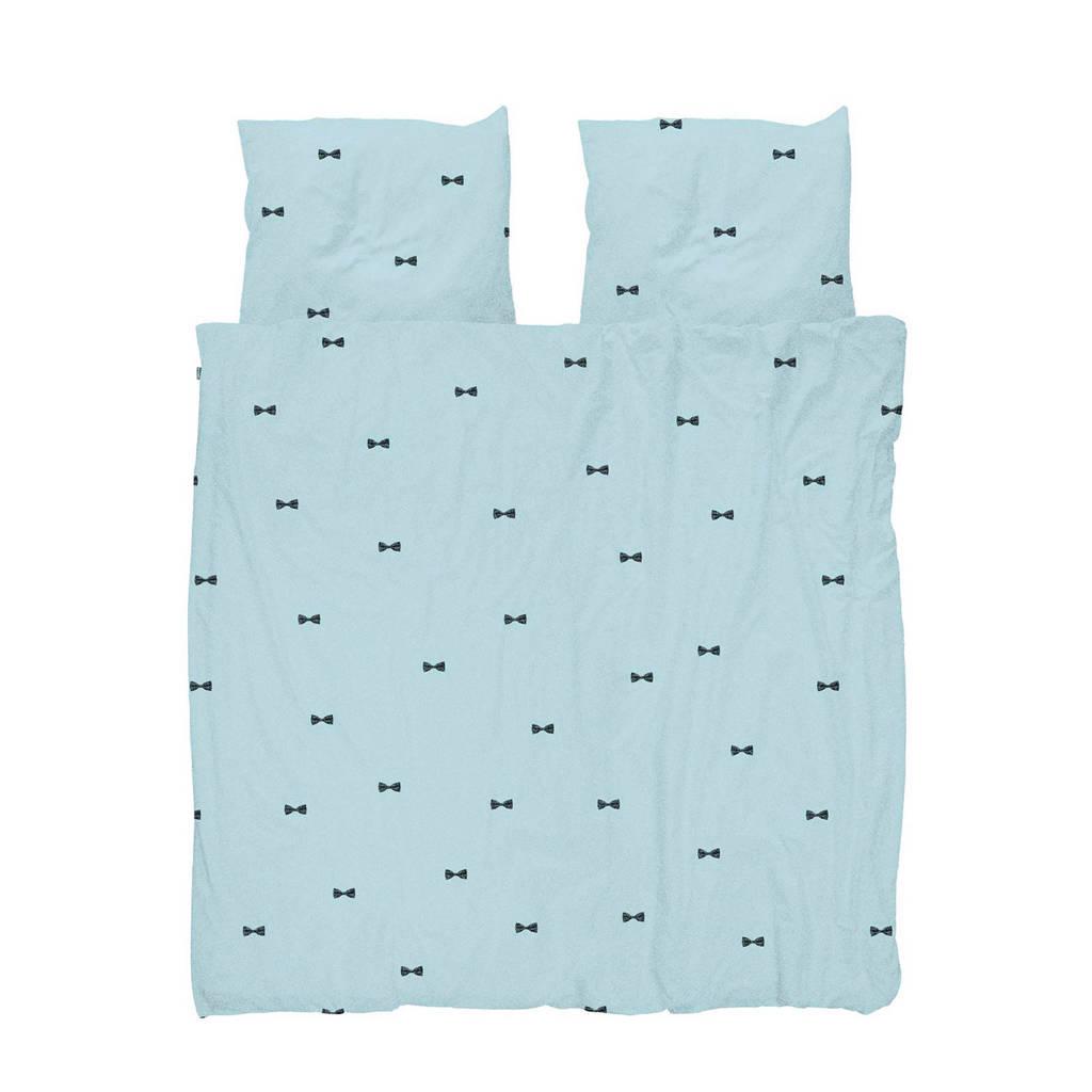 Snurk katoenen dekbedovertrek 2 pers., Lichtblauw, 2 persoons (200 cm breed)