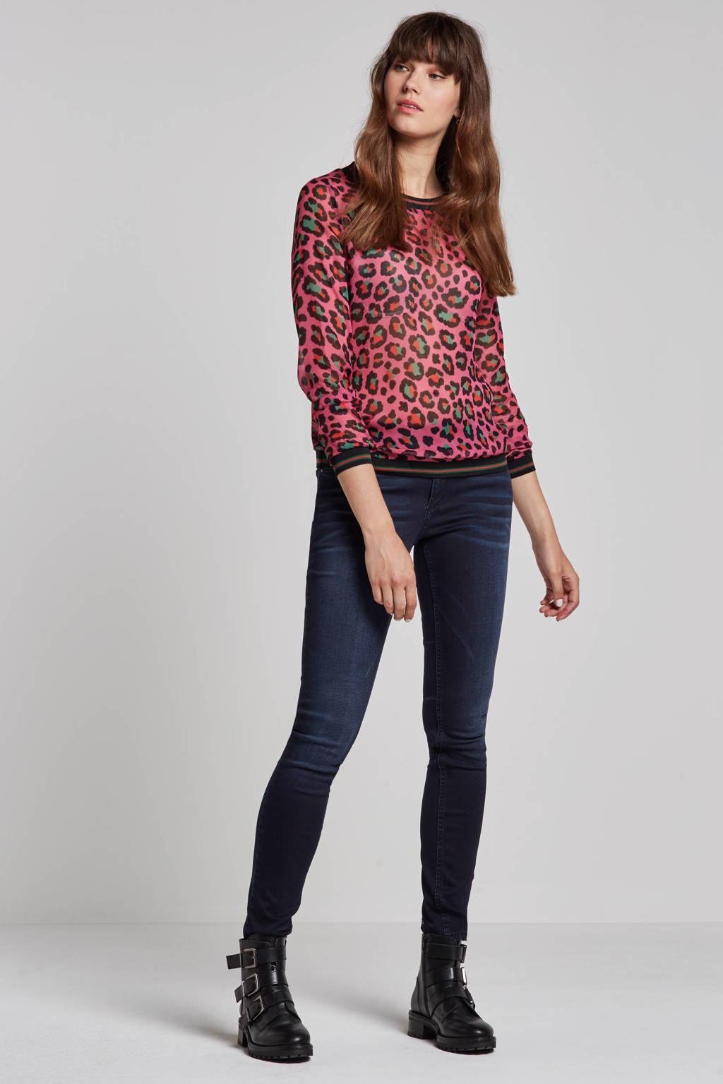 Geisha Skinny fit jeans, Blauw