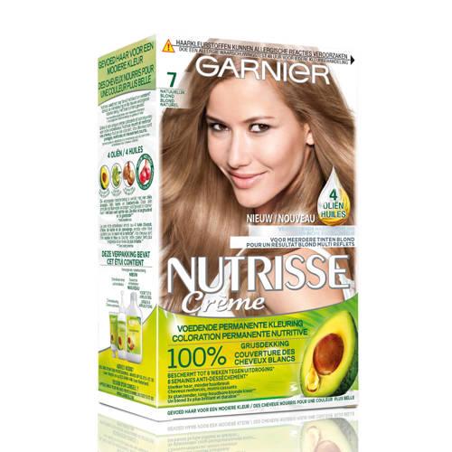 Garnier Nutrisse Cr??me haarkleuring - 7 Natuurlij