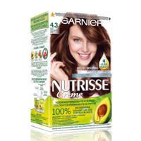 Garnier Nutrisse Crème haarkleuring - 4.3 Goud middenbruin, Goud Middenbruin