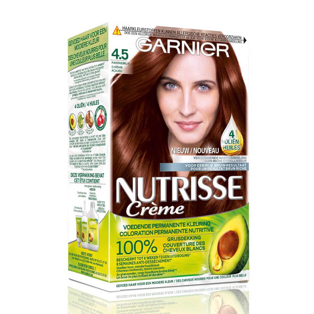 Garnier Nutrisse Crème haarkleuring - 4.5 Mahoniebruin