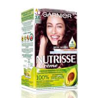 Garnier Nutrisse Crème haarkleuring - 3.6 Dieprood Donkerbruin