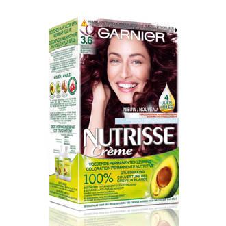 Nutrisse Crème haarkleuring - 3.6 Dieprood Donkerbruin