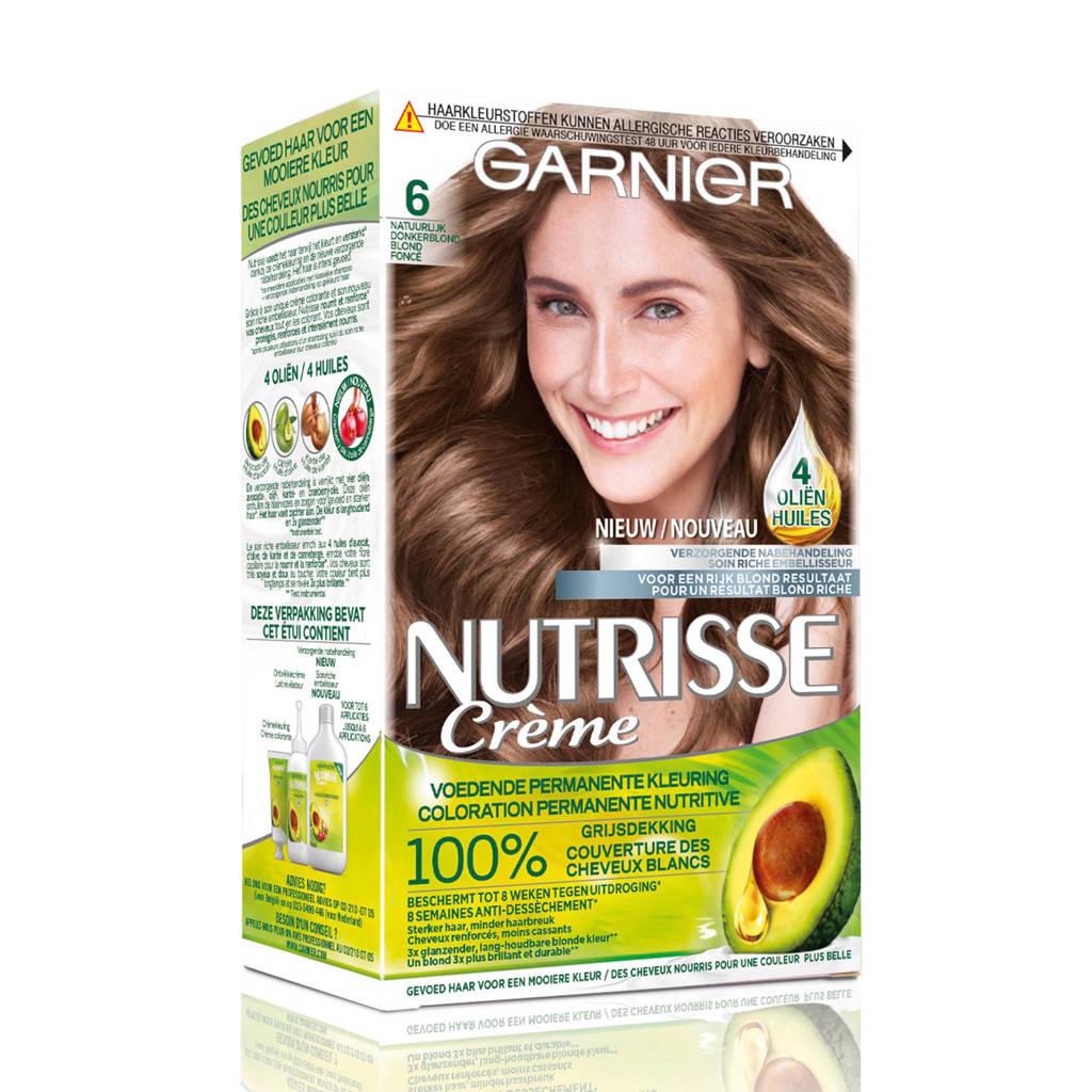 Garnier Nutrisse Crème haarkleuring - 6 Natuurlijk Donkerblond