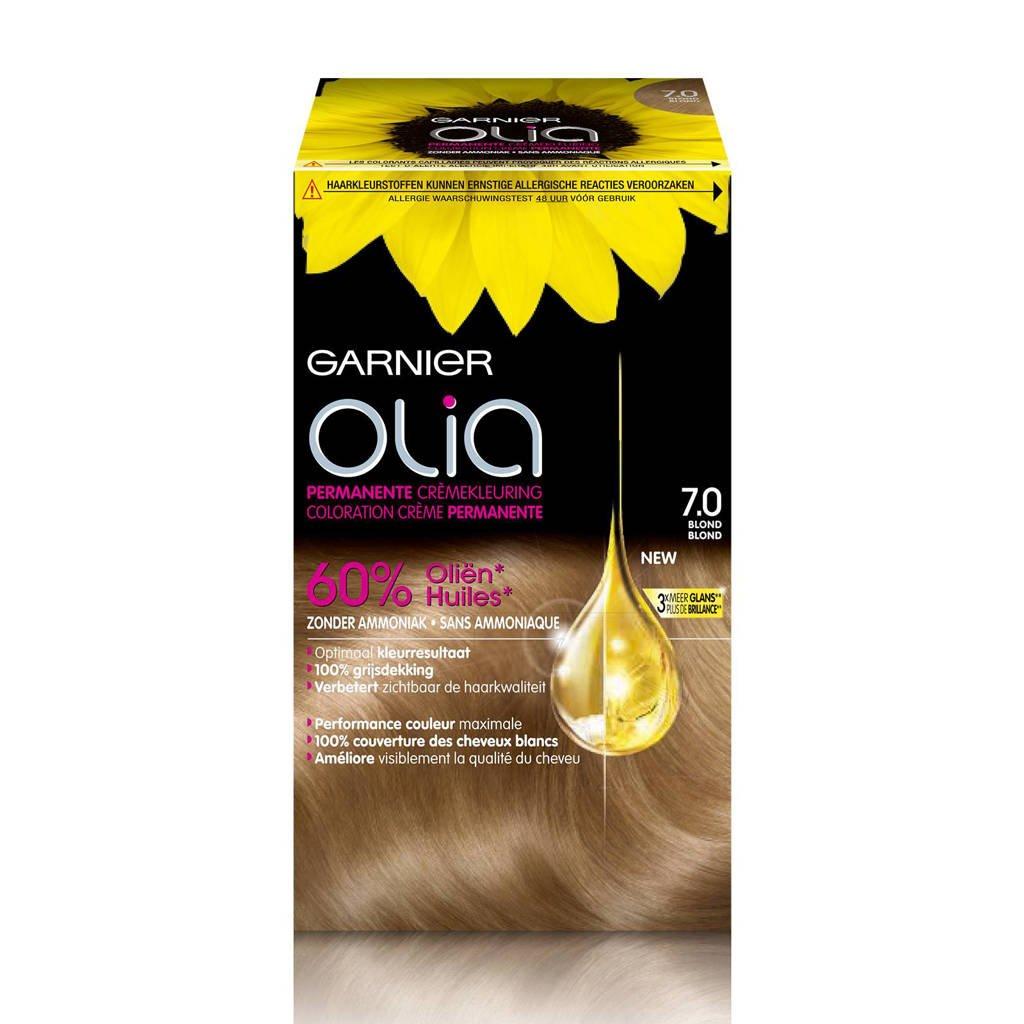 Garnier Olia haarkleuring - 7.0 Blond