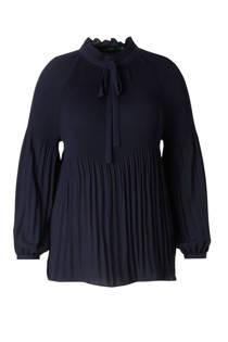 Lauren Woman blouse met strik (dames)