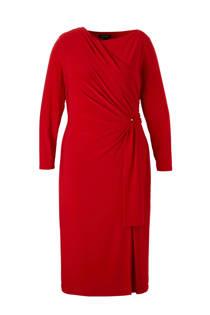 Lauren Woman jurk rood