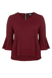 Zoey blouse met wijduitlopende mouwen (dames)