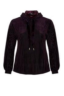 Zoey sweater met fluweel (dames)