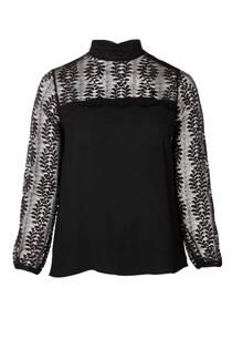 Zoey blouse met kant (dames)