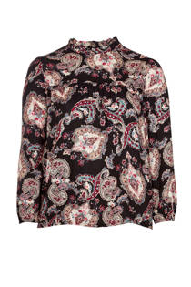 Zoey blouse met all-over print (dames)