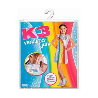 K3 verkleedjurk regenboog
