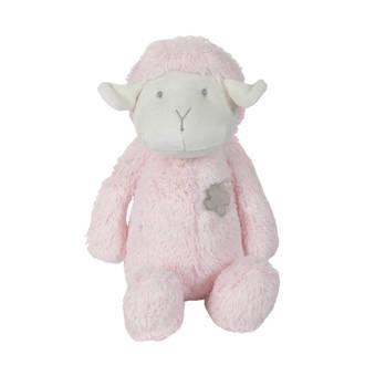 schaap roze knuffel 30 cm