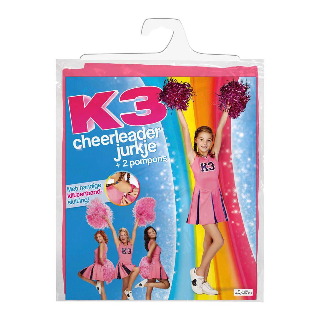 Studio 100 K3 verkleedjurk cheerleader 9 tot 11 jaar