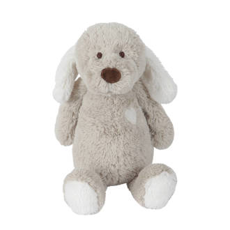 hond beige knuffel 30 cm
