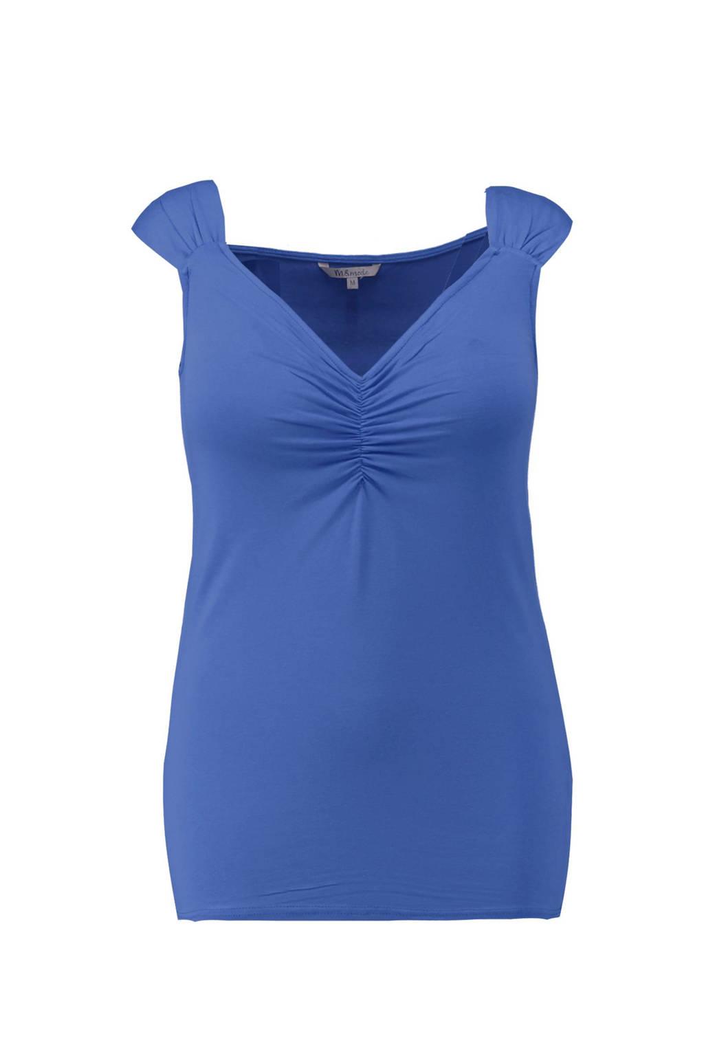 MS Mode T-shirt blauw, Kobalt blauw