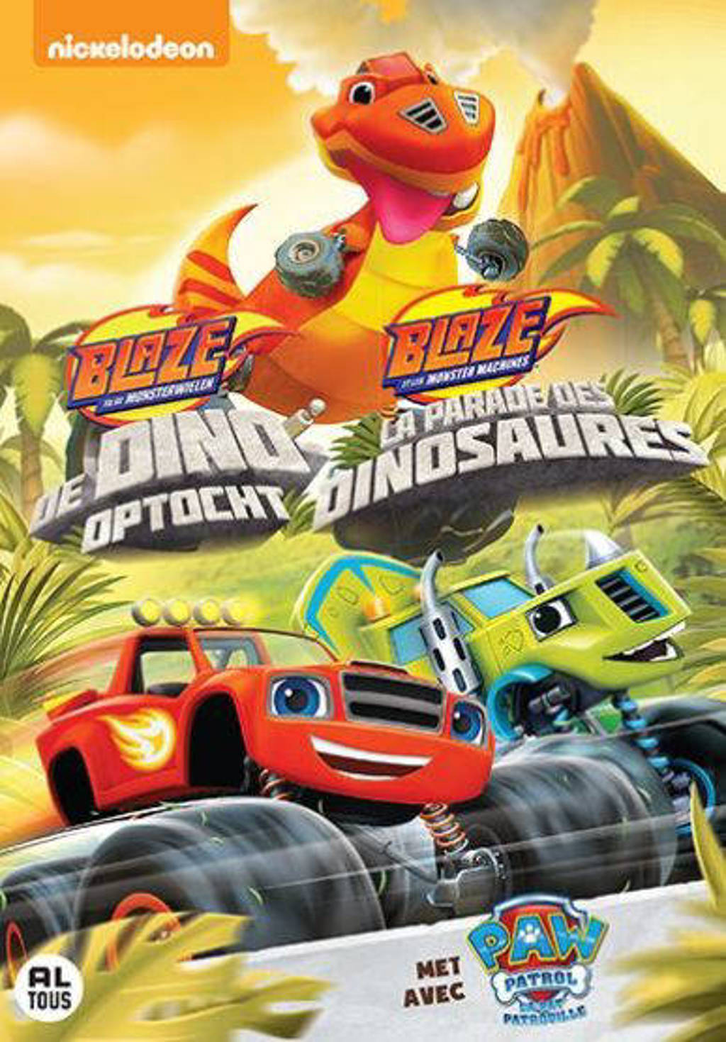 Blaze & The monster machine - De dino optocht (DVD)
