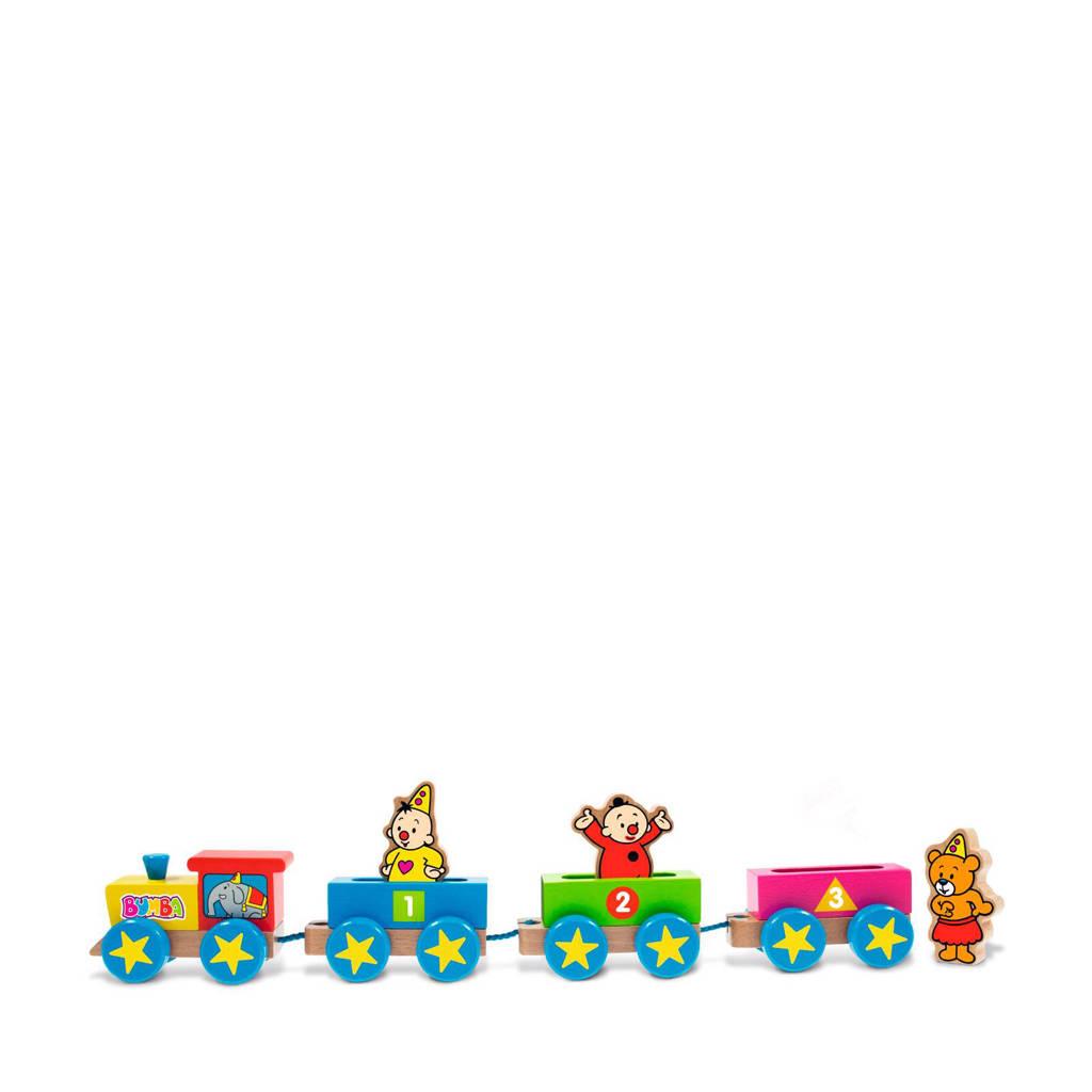 Studio 100 Bumba houten trein met figuren
