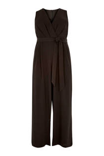 River Island Plus  jumpsuit met strikceintuur (dames)