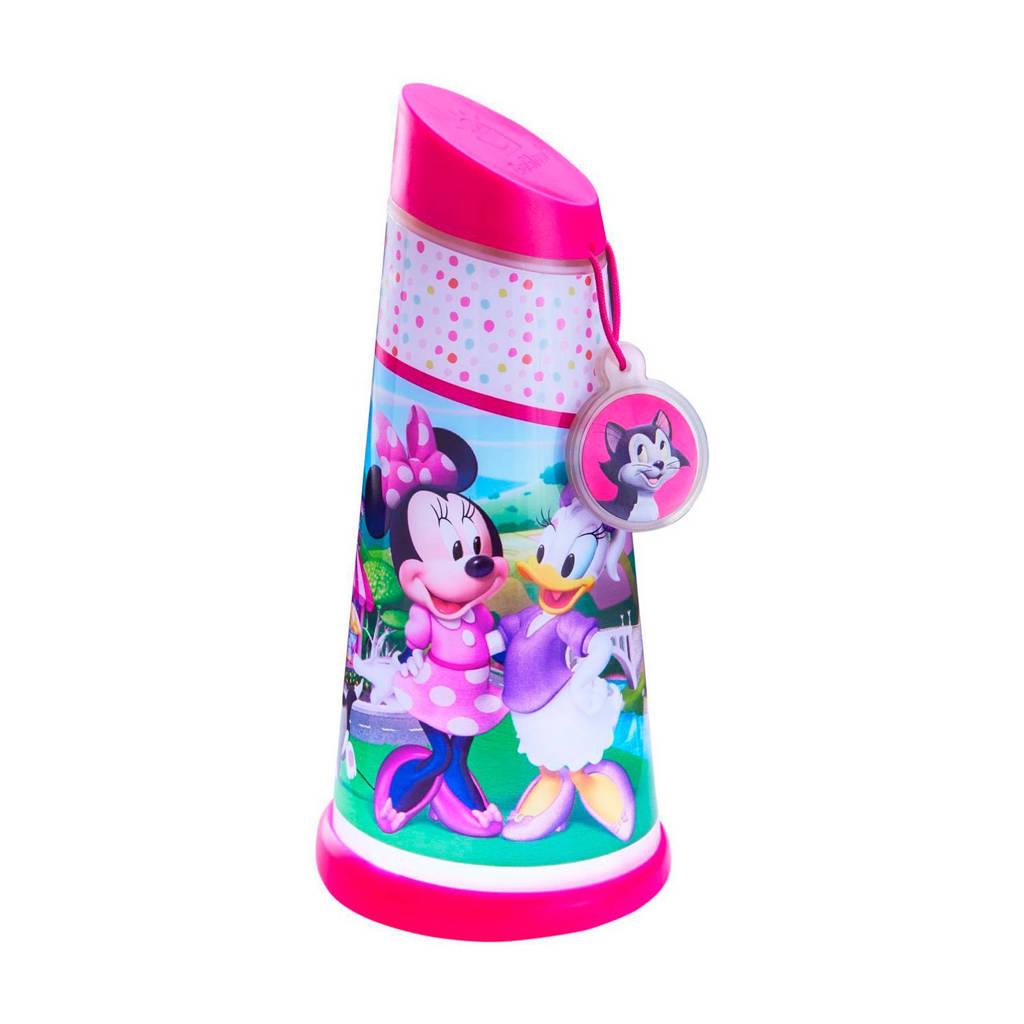 Disney zak- en nachtlamp Minnie Mouse, Roze