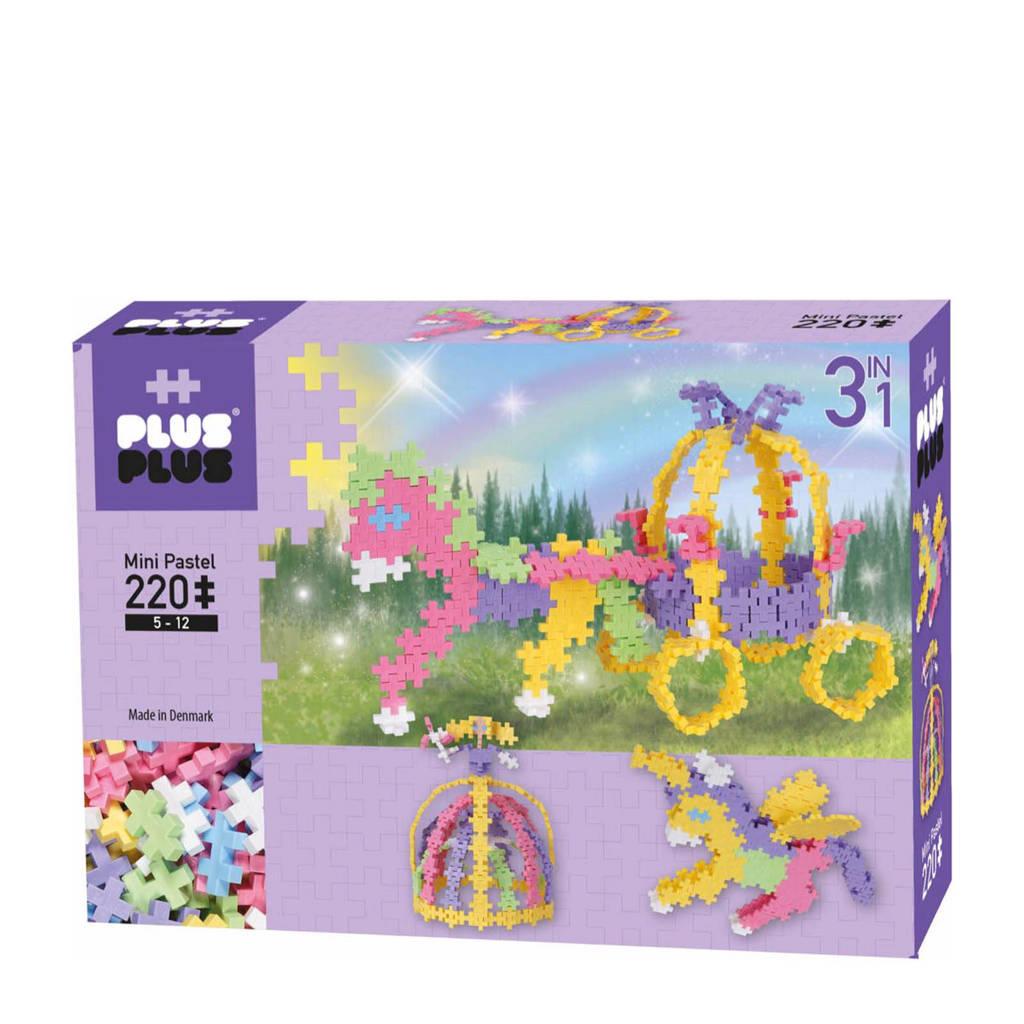 Plus-Plus  mini pastel sprookjes 3-in-1 220 stuks