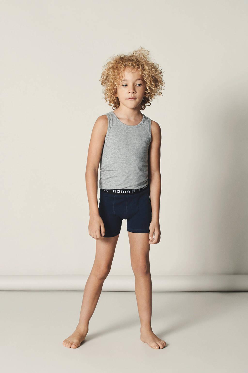 NAME IT KIDS   boxershort - set van 2, Zwart/wit