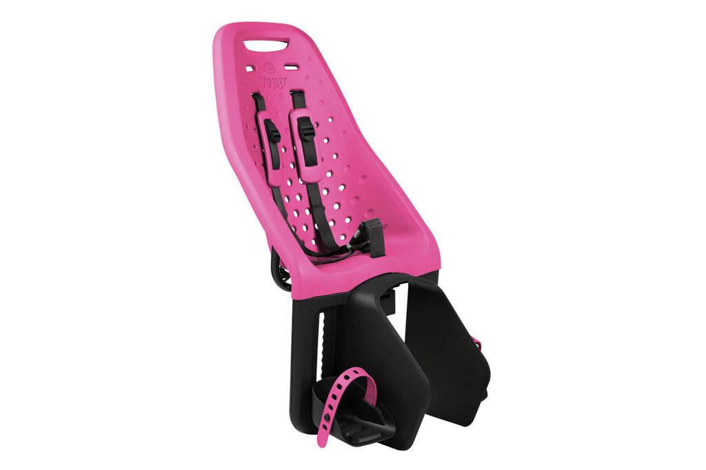 Yepp Maxi fietsstoeltje achter roze, Roze