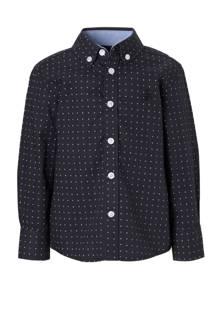 Palomino regular fit overhemd marineblauw