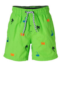 Rodeo zwemshort met all-over print groen