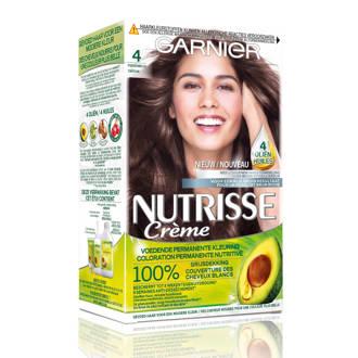 Nutrisse Crème haarkleuring - 4 Middenbruin