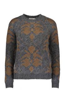 Sissy-Boy trui met wol en lurex grijs (dames)