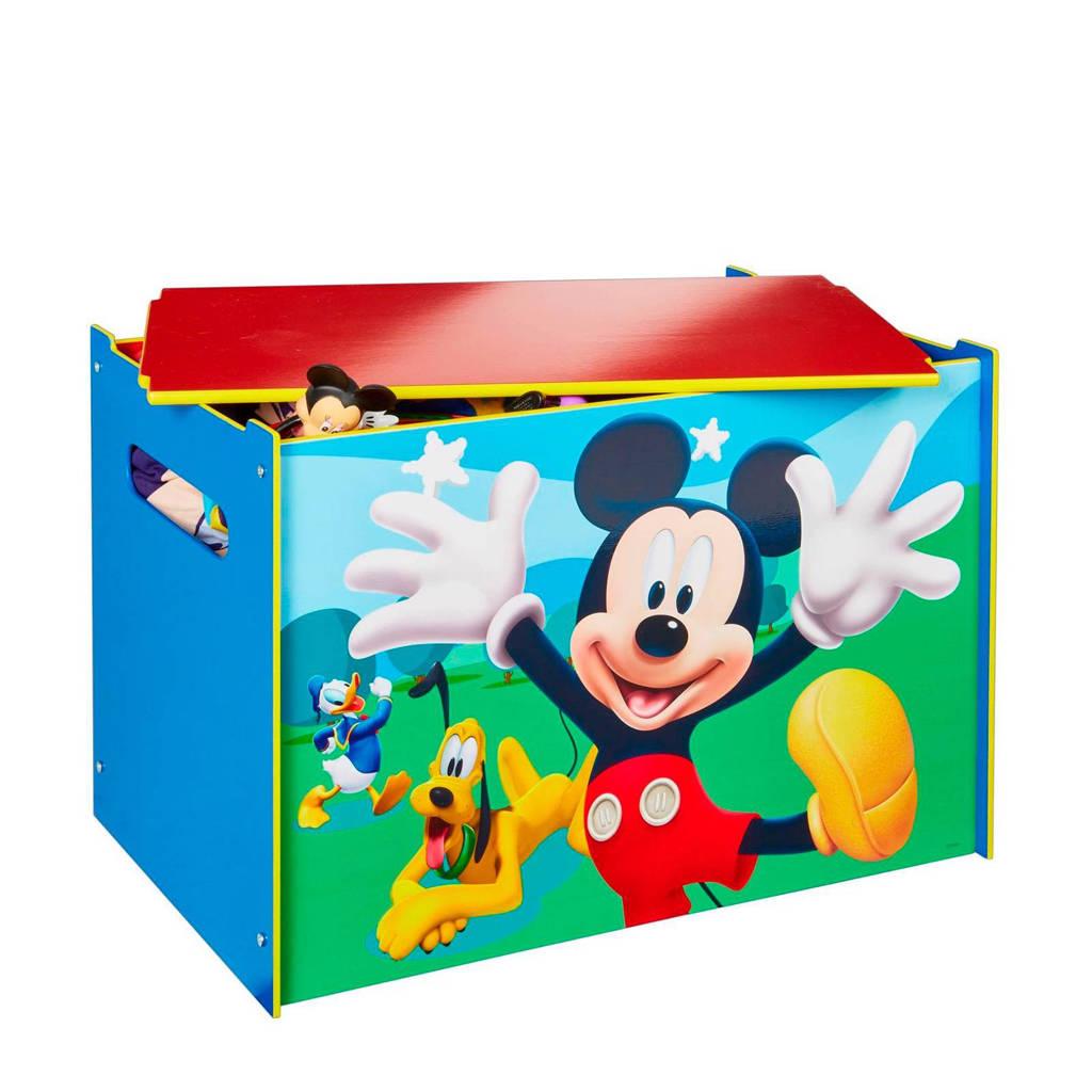 Mickey Mouse speelgoedkist, Groen/rood/blauw