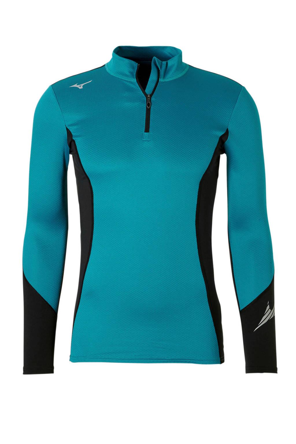 Mizuno   sport T-shirt Thermo, Blauw