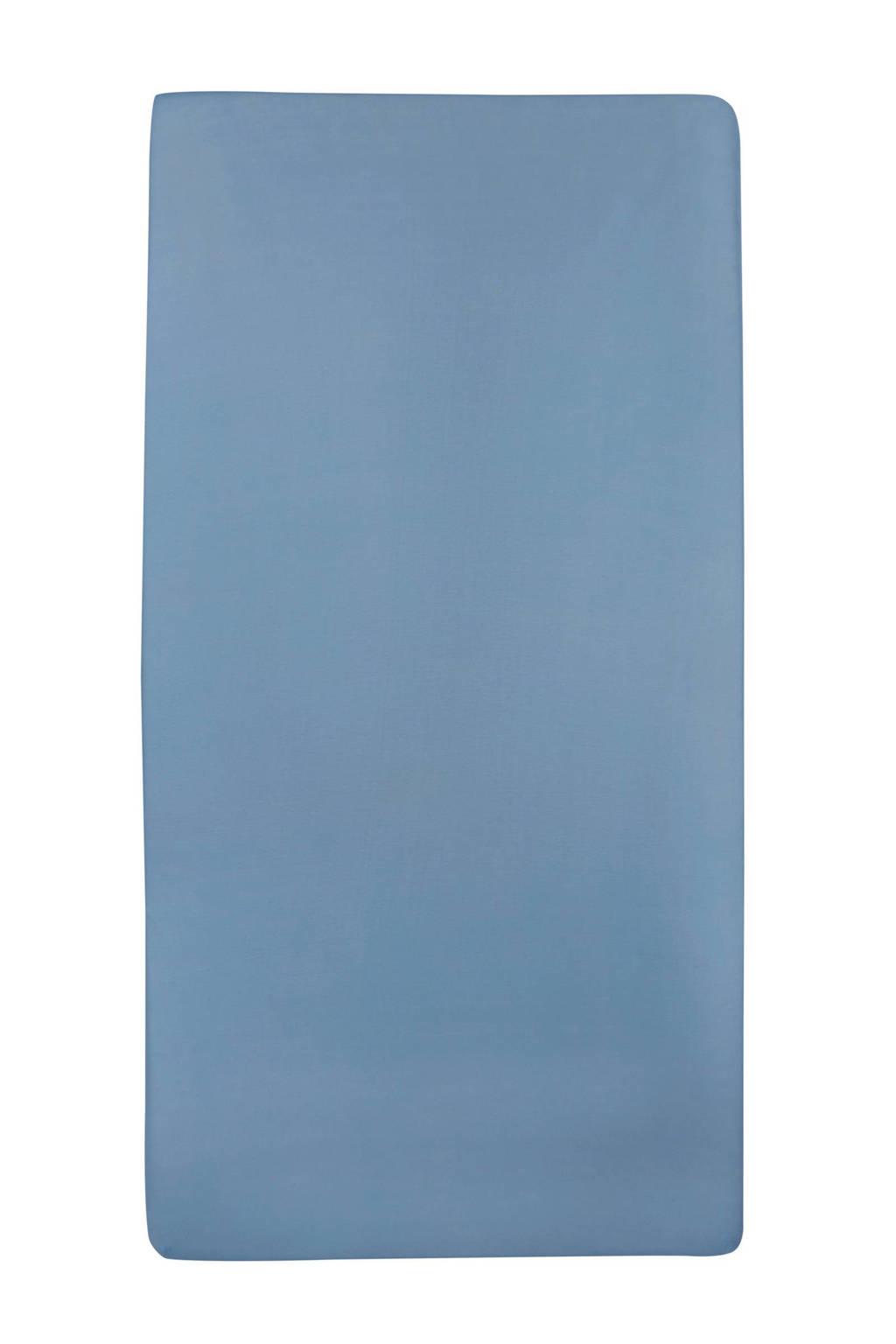 Meyco jersey baby hoeslaken ledikant 60x120 cm, jeans