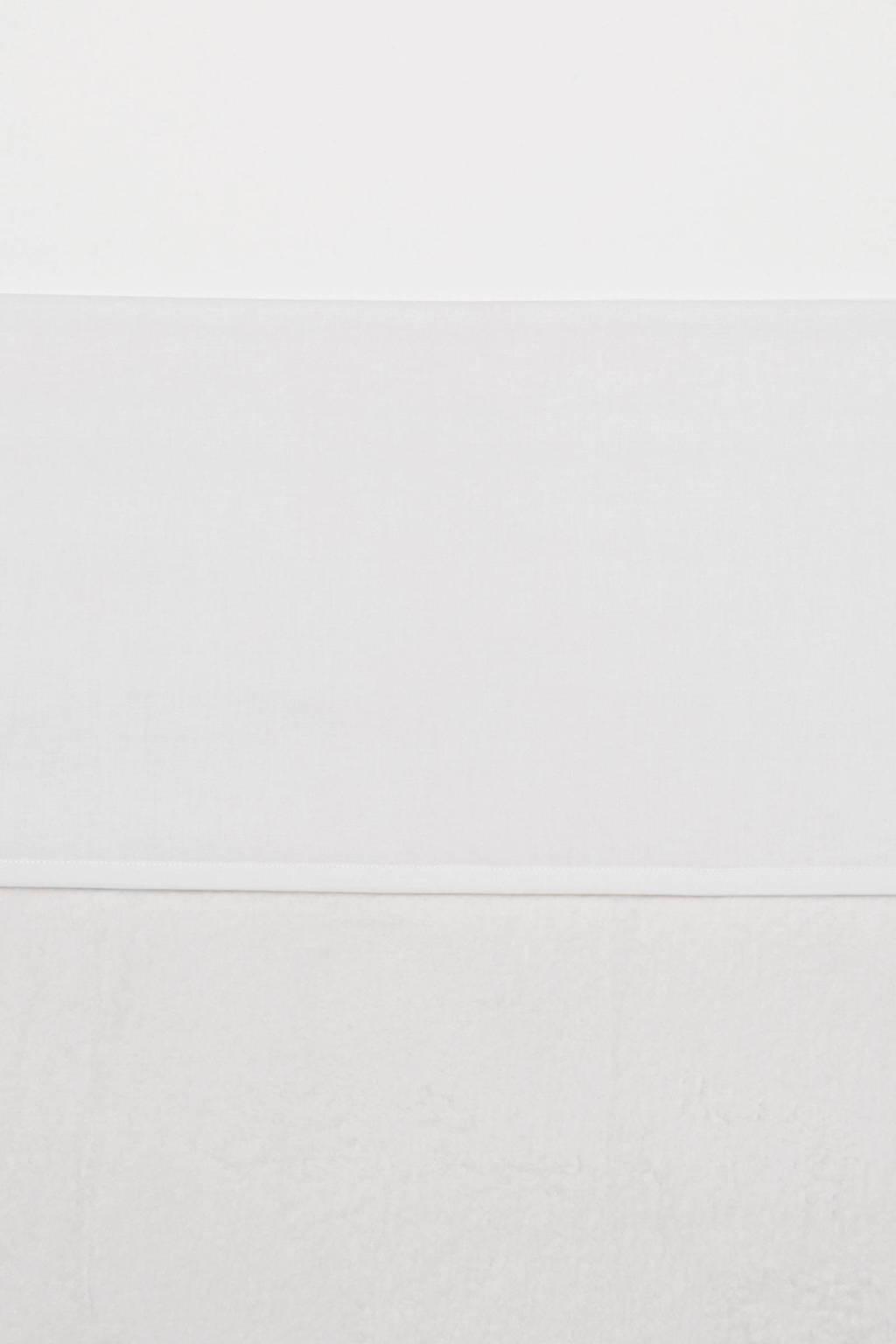 Meyco Uni ledikantlaken 100x150 cm wit, Wit