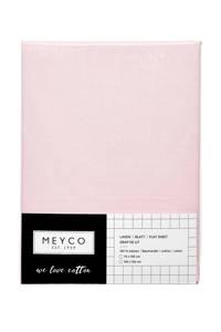 Meyco Uni ledikantlaken 100x150 cm lichtroze, Lichtroze