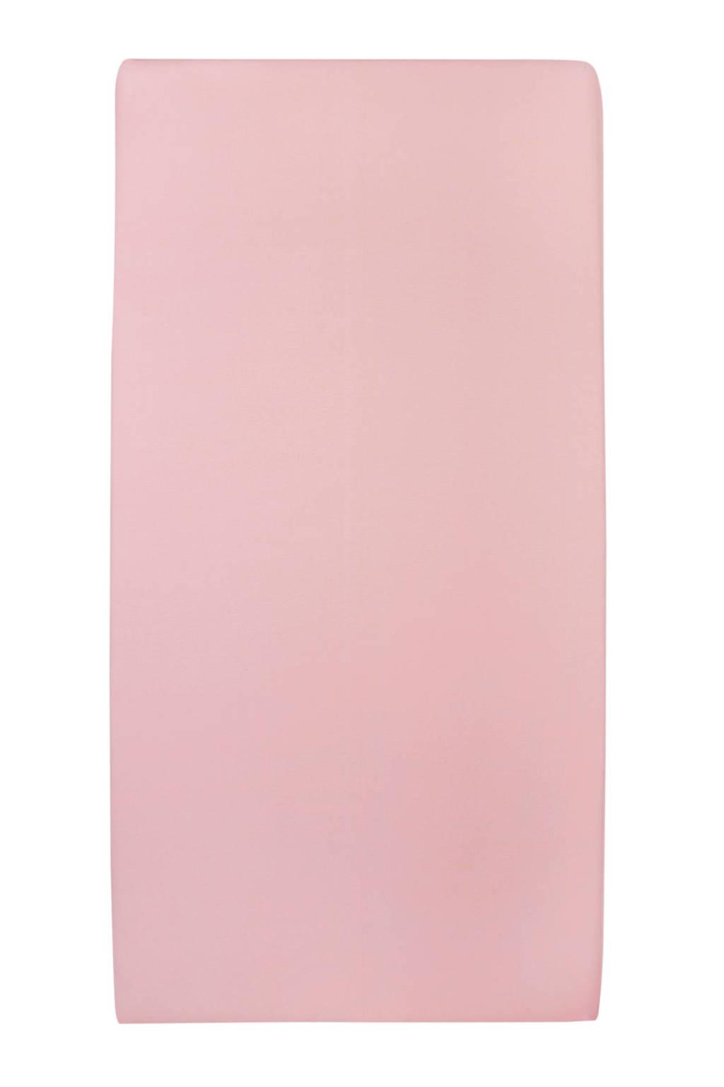 Meyco jersey hoeslaken peuterbed 70x140/150 cm Oudroze