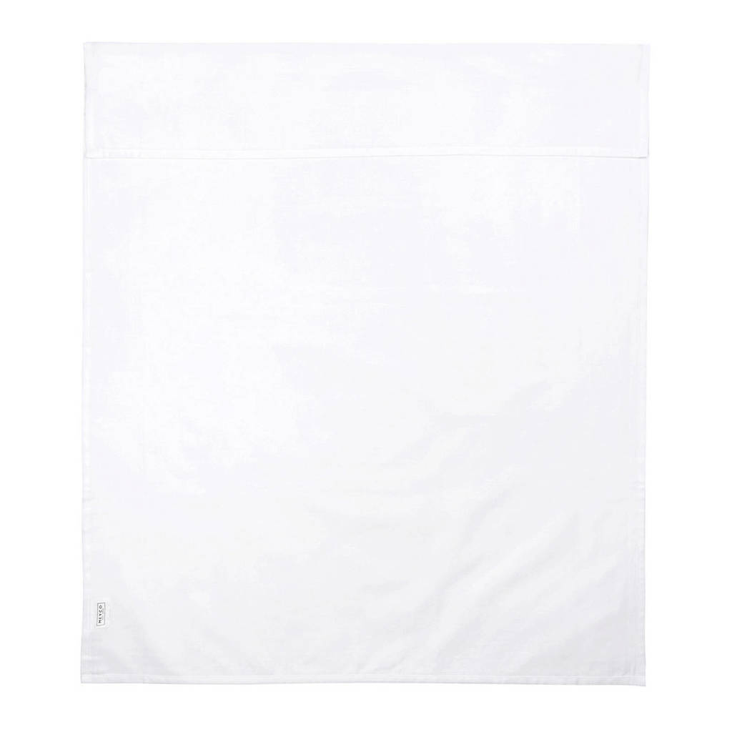 Meyco Uni wieglaken 75x100 cm wit, Wit