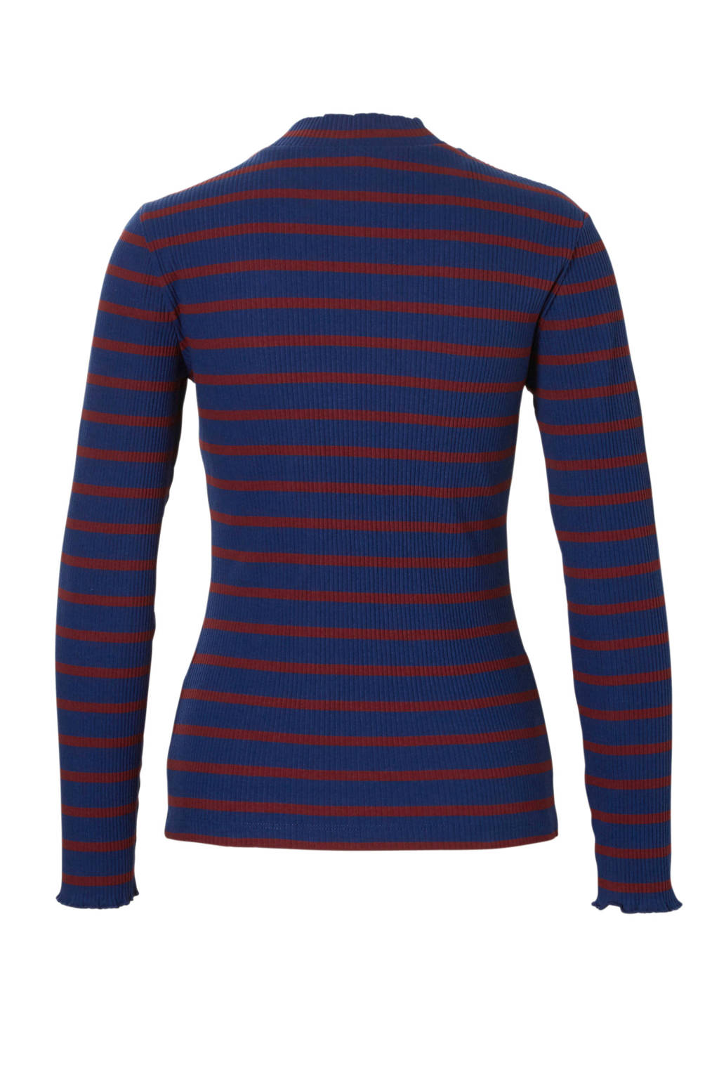 ONLY gestreepte trui, Blauw/rood
