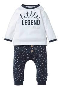B.E.S.S gifset newborn baby set, Blauw