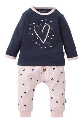 B.E.S.S newborn baby pyjama - set van 2