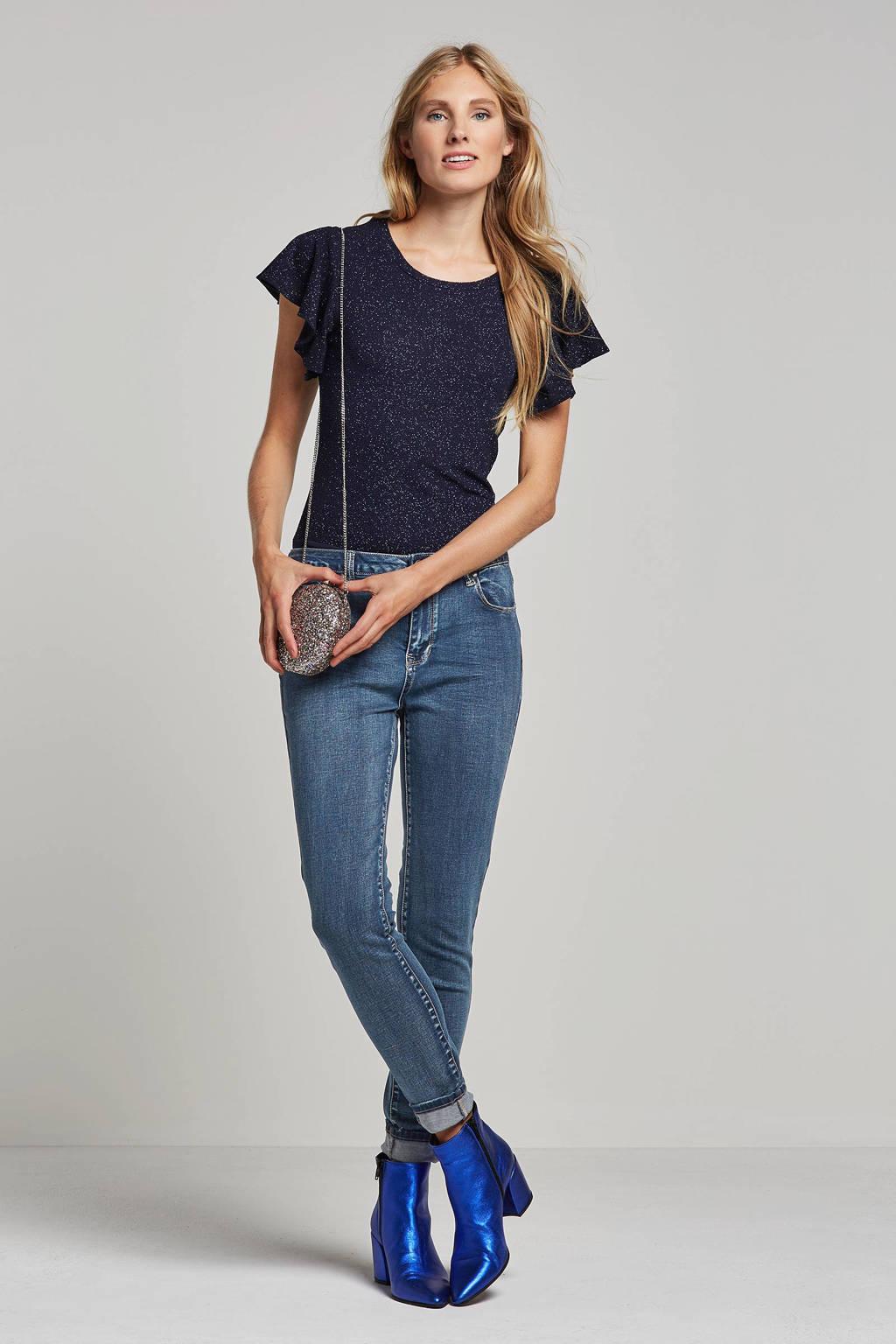 OBJECT skinny jeans, Blauw